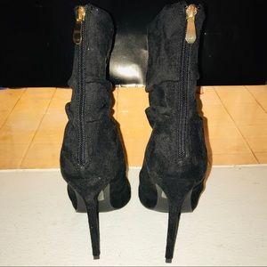 Fashion Nova Sabrina Scrunch Booties